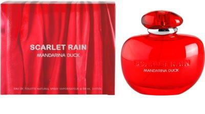 Mandarina Duck Scarlet Rain Eau de Toilette para mulheres