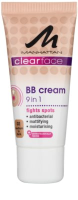 Manhattan Clearface BB krém 9 v 1 SPF 15