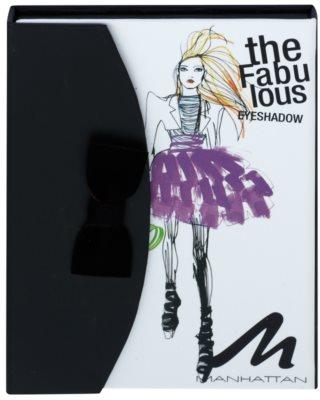 Manhattan Fab Fashionista paleta cieni do powiek 1