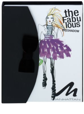 Manhattan Fab Fashionista paleta senčil za oči 1