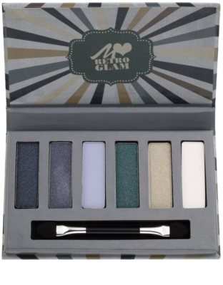 Manhattan Loves Retro Glam Palette mit Lidschatten