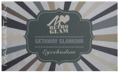 Manhattan Loves Retro Glam Palette mit Lidschatten 1