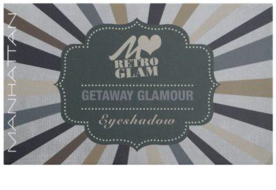 Manhattan Loves Retro Glam paleta de sombras 1