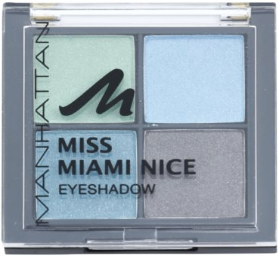 Manhattan Miss Miami Nice Variedade de sombras tons pastel para os olhos 1