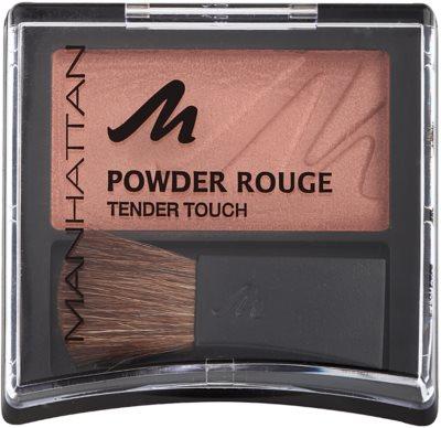 Manhattan Powder Rouge blush 1