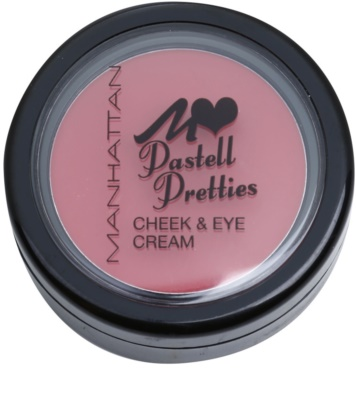 Manhattan Pastell Pretties Creme-Rouge und Lidschatten 2 in 1 1