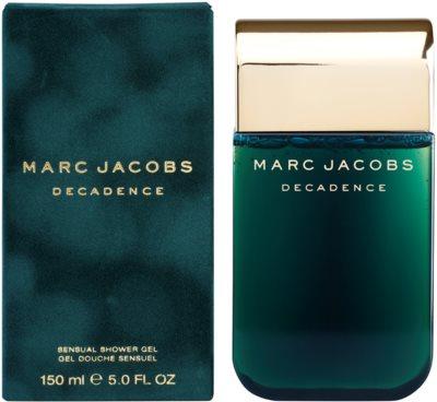 Marc Jacobs Decadence gel de dus pentru femei