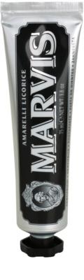 Marvis Amarelli Licorice pasta de dinti