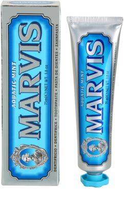 Marvis Aquatic Mint зубна паста 2