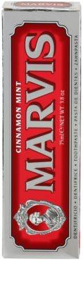 Marvis Cinnamon Mint pasta de dientes 3