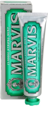 Marvis Classic Strong Mint pasta de dientes 1