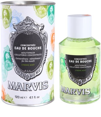 Marvis Strong Mint вода за уста 3