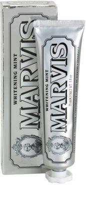 Marvis Whitening Mint dentífrico com efeito branqueador 1