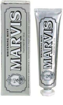 Marvis Whitening Mint dentífrico com efeito branqueador 2