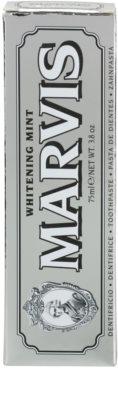 Marvis Whitening Mint dentífrico com efeito branqueador 3