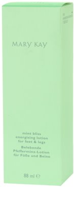 Mary Kay Mint Bliss crema de pies 1