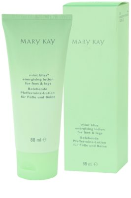 Mary Kay Mint Bliss crema de pies 2