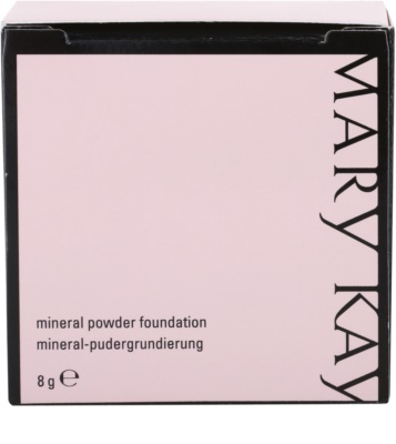 Mary Kay Mineral Powder Foundation Puder-Make Up mit Mineralien 4