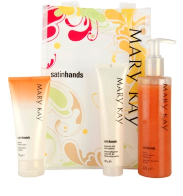 Mary Kay Satin Hands lote cosmético I.