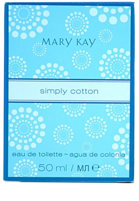 Mary Kay Simply Cotton eau de toilette para mujer 4