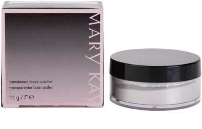 Mary Kay Translucent Loose Powder puder transparentny 3