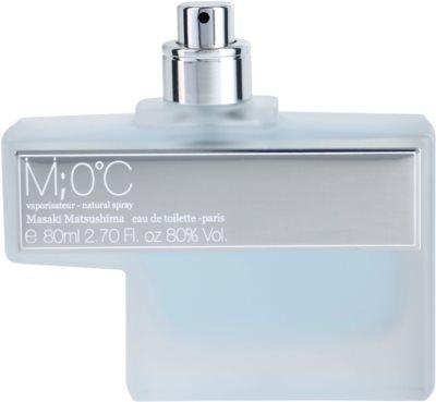 Masaki Matsushima M 0°C Men туалетна вода тестер для чоловіків