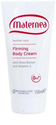 Maternea Mother Care stärkende Körpercrem mit Bambus Butter