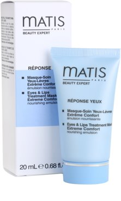 MATIS Paris Réponse Yeux Maske Für Lippen und Augenumgebung 1