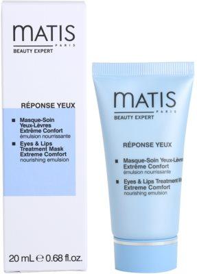 MATIS Paris Réponse Yeux Maske Für Lippen und Augenumgebung 2