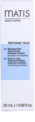 MATIS Paris Réponse Yeux Maske Für Lippen und Augenumgebung 3