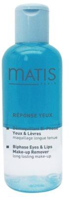 MATIS Paris Réponse Yeux demachiant in doua etape zona ochilor si a buzelor