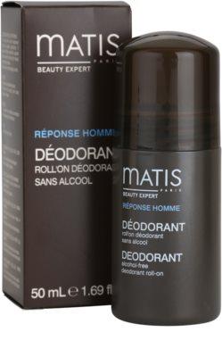 MATIS Paris Réponse Homme roll-on dezodor minden bőrtípusra, beleértve az érzékeny bőrt is 2