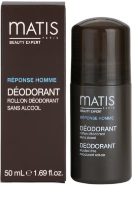 MATIS Paris Réponse Homme Deodorant roll-on pentru toate tipurile de ten, inclusiv piele sensibila 3