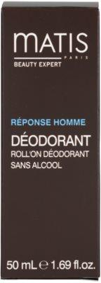 MATIS Paris Réponse Homme Deodorant roll-on pentru toate tipurile de ten, inclusiv piele sensibila 4