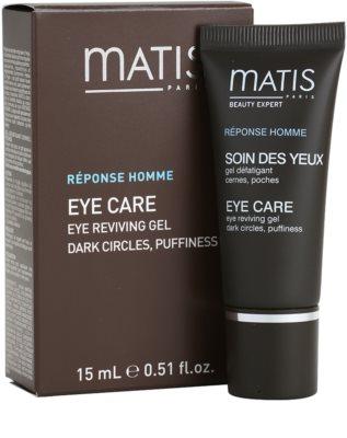 MATIS Paris Réponse Homme gel pentru ochi impotriva cearcanelor si ochilor umflati 1