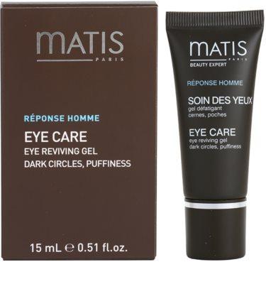MATIS Paris Réponse Homme gel pentru ochi impotriva cearcanelor si ochilor umflati 2