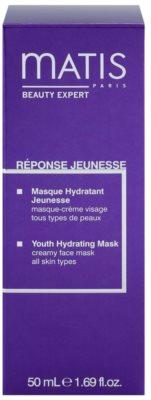 MATIS Paris Réponse Jeunesse feuchtigkeitsspendende Gesichtsmaske für alle Hauttypen 2