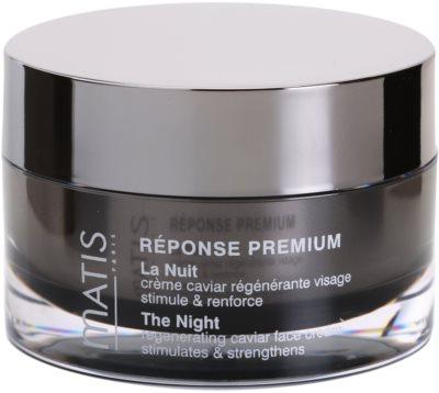 MATIS Paris Réponse Premium crema de noche regeneradora  antiestrés