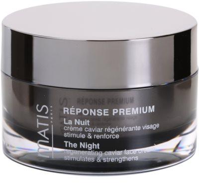 MATIS Paris Réponse Premium regenerierende Nachtcreme gegen Stress