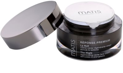 MATIS Paris Réponse Premium crema regeneratoare de noapte impotriva stresului 2