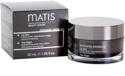 MATIS Paris Réponse Premium crema regeneratoare de noapte impotriva stresului 4
