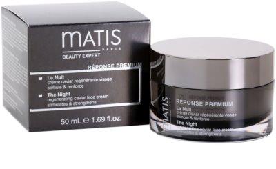 MATIS Paris Réponse Premium crema de noche regeneradora  antiestrés 4