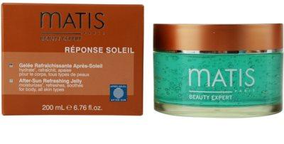 MATIS Paris Réponse Soleil освежаващ гел след слънчеви бани 1