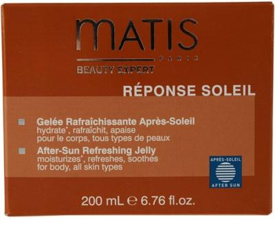 MATIS Paris Réponse Soleil освежаващ гел след слънчеви бани 2