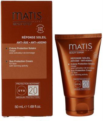 MATIS Paris Réponse Soleil крем для обличчя для засмаги SPF 20 1