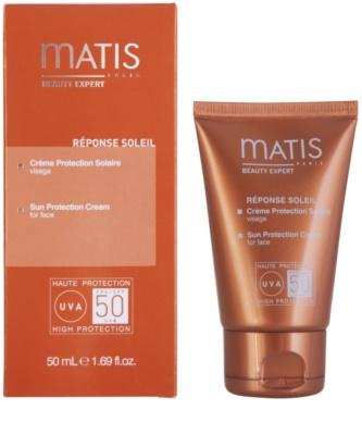 MATIS Paris Réponse Soleil крем для обличчя для засмаги SPF 50 1