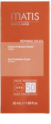 MATIS Paris Réponse Soleil крем для обличчя для засмаги SPF 50 2