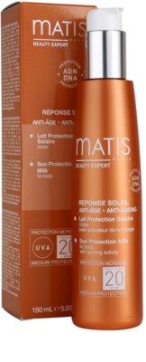 MATIS Paris Réponse Soleil mléko na opalování SPF 20 1