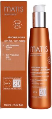 MATIS Paris Réponse Soleil mléko na opalování SPF 20 2