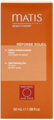 MATIS Paris Réponse Soleil samoopalovací gel 3